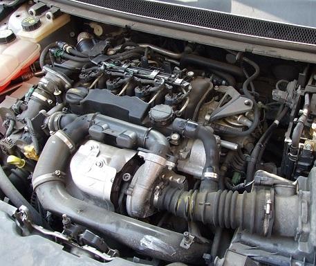1.6 TDCi engine